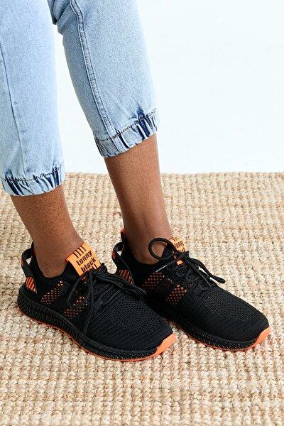 Unısex Siyah Spor Ayakkabı Tbıdl