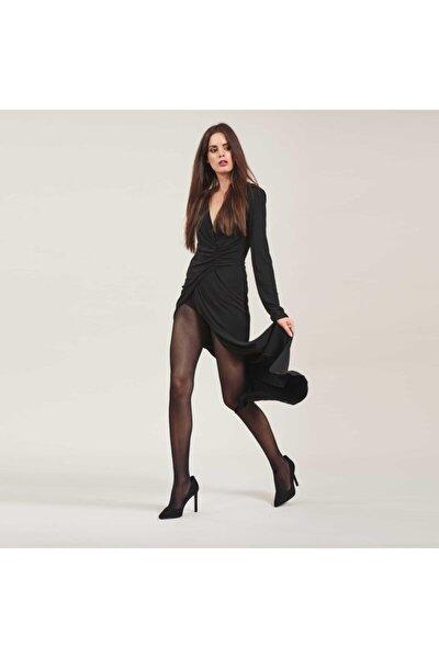 Kadın Külotlu Çorap - Siyah