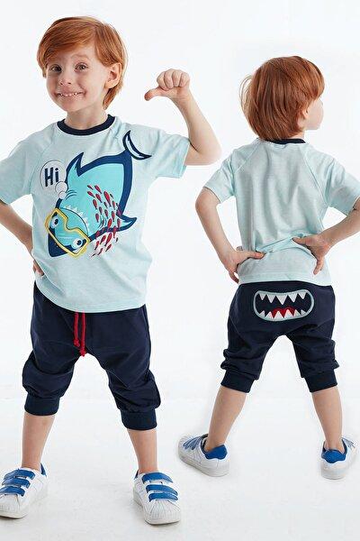 Hi Shark Erkek Çocuk Kapri Takım