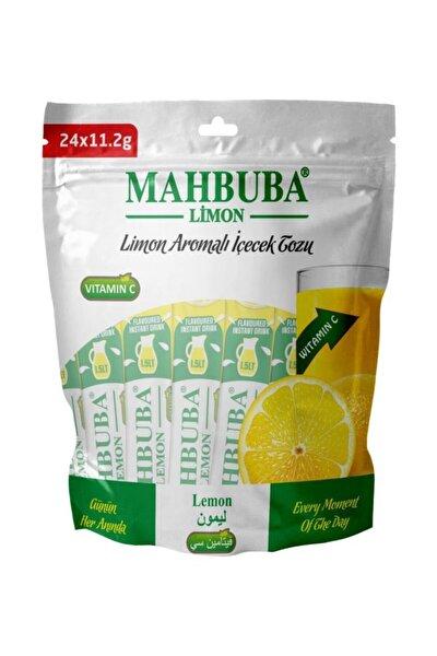 Mahbuba Limon Toz Içecek Gerçek Meyve Tadında 24x1.5 Litre