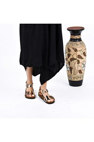 Kadın Rose Hakiki Deri Sandalet