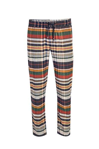 Ekose Flanel Pijama Altı