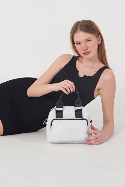 Kadın Beyaz Askılı Çanta Ç3259 - F11 Adx-0000023848