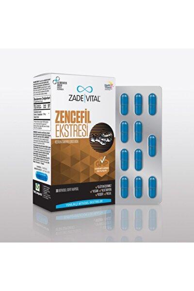 Zencefil Ekstresi 30 Bitkisel Kapsül