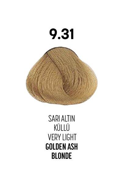 9.31 / Sarı Altın Küllü - Very Light Golden Ash Blonde - Glamlook Saç Boyası