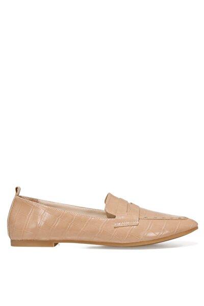 LEFUR2 Bej Kadın Loafer Ayakkabı 101028721