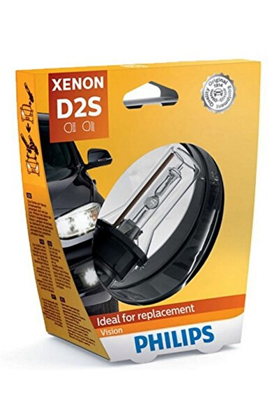 D2S Vision 85V 35W 4600K Ampul Made in Germany