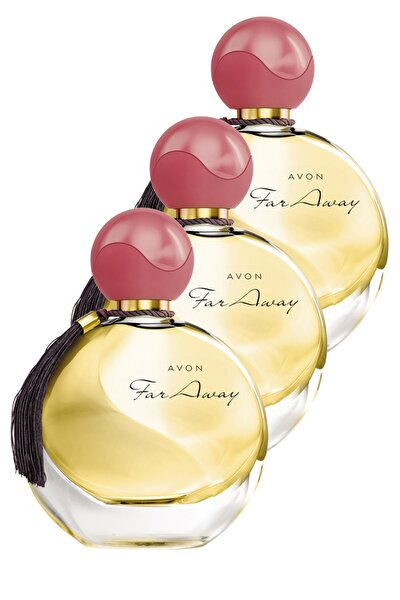 Far Away Kadın Parfüm Edp 50 ml 3'lü Set 5050000101509