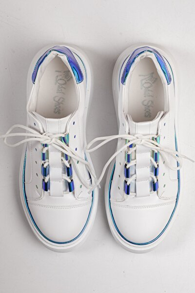 Beyaz Gökkuşağı Unisex Sneaker