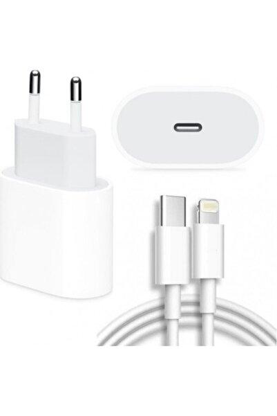 Apple Macbook Ipad Iphone 11 / 12 - Pro Max Mini Uyumlu 20w Adaptör Kablo Usb-c Pd Hızlı Şarj Aleti