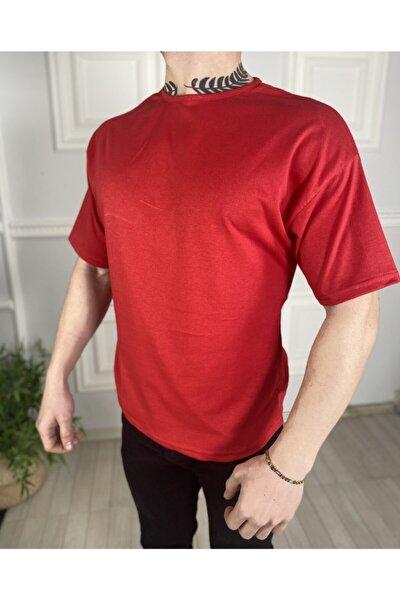 Erkek Düz Oversize Tişört