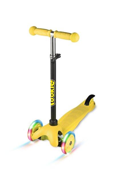 Sarı  3 Tekerlekli Işıklı Scooter