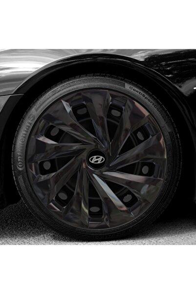 Hyundai Accent Era 14 Inch Uyumlu Piano Siyah Parlak Jant Kapağı