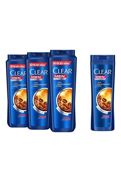Men Saç Dökülmesine Karşı Şampuan 600ml x3 + 180ml