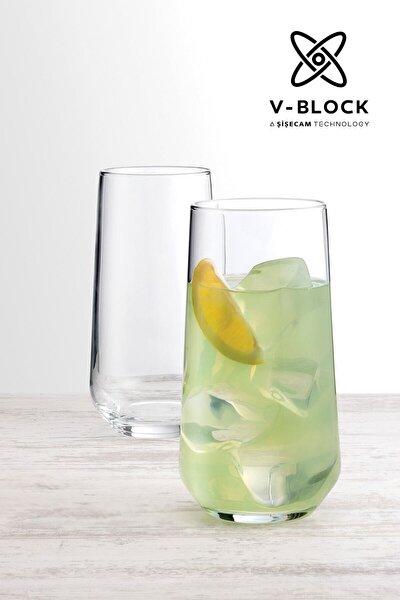V-block Antimikrobiyal Allegra 6'lı Meşrubat Bardağı