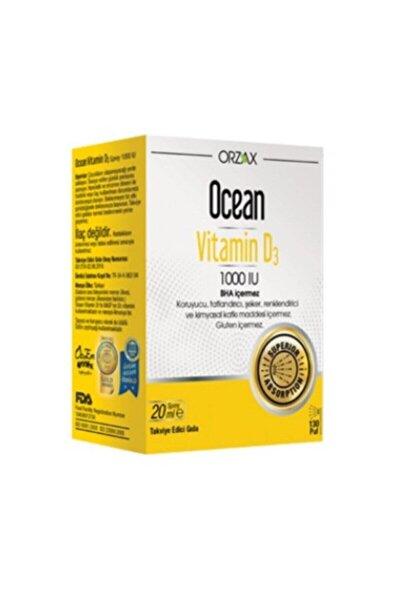 D3 Vitamini - Ocean Vitamin D3 1000 Iu Sprey 20 ml