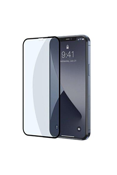 Iphone 12 Pro Max Uyumlu 6.7 0.3mm Full Anti Blue Light Tempered Cam Ekran Koruyucu 2adet Set