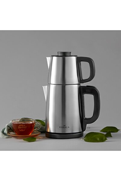 Tea Break Çay Makinesi İnox Siyah