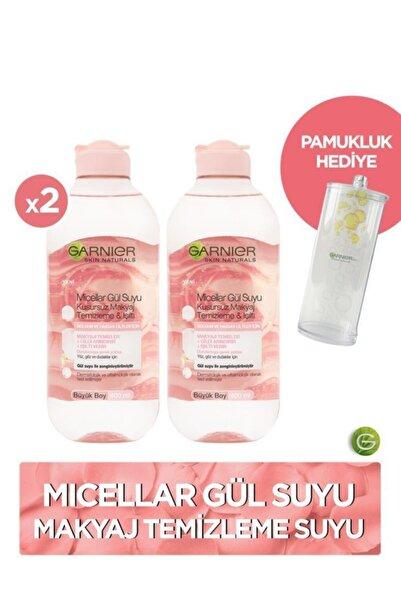 2'li Micellar Gül Suyu Kusursuz Makyaj Temizleme & Işıltı 400 ml + Pamukluk Hediye