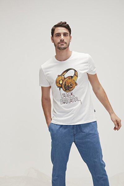 Erkek Baskılı T Shirt 20.01.07.030