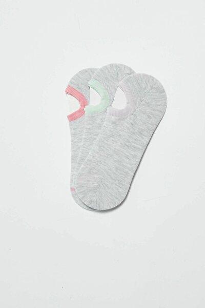 Kadın Pembe Patik Çorap