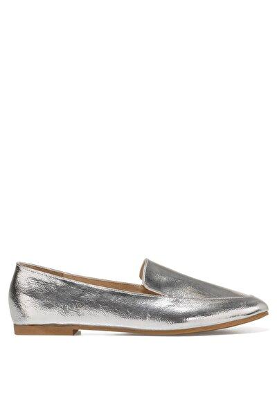 LEFUR Gümüş Kadın Loafer Ayakkabı 101028718