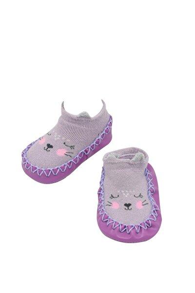 Kız Bebek Katamino Melodie 3 Boyutlu Altı Kaydırmaz Ev Ayakkabısı    K47001