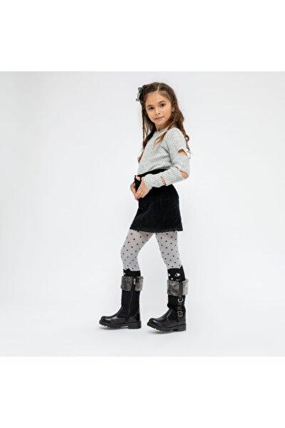 BERT.19W Siyah Kız Çocuk Çizme 100439322