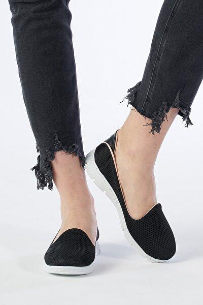 Siyah Kadın Spor Ayakkabı TS1032