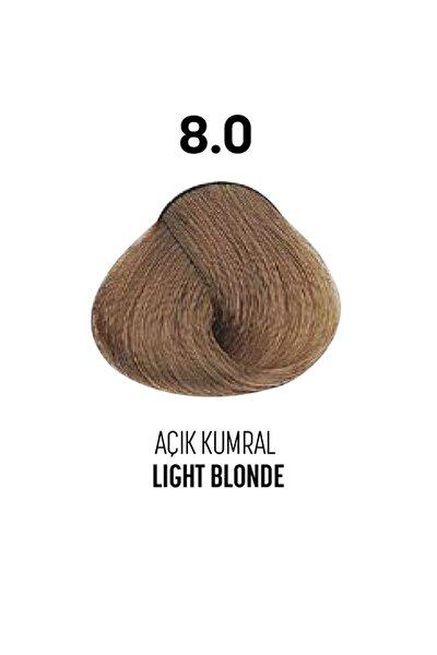 8.0 / Açık Kumral - Light Blonde Glamlook Saç Boyası
