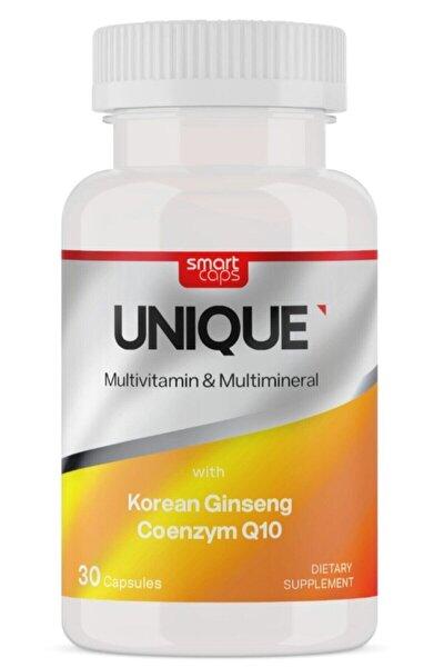 Unıque Multivitamin & Multimineral Ginseng Q10 30 Kapsül