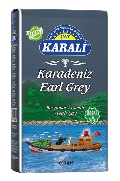 Karali Karadeniz Earl Grey Dökme Çay 1 Kg