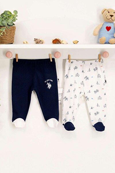 U.s Polo Bebek Patikli 2'li Pantolon Takım Usb149