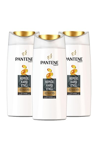 2'si 1 Arada Kepeğe Karşı Etkili Şampuan  700 ml X 3 Adet