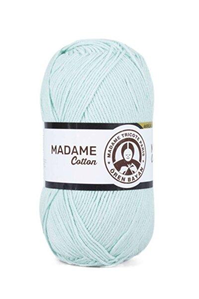Yeşil Madame Cotton El Örgü İpi  017