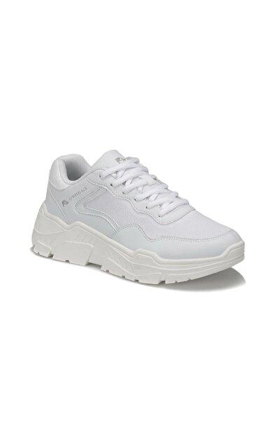 Henora 9pr Beyaz Kadın Kalın Taban Sneaker Spor Ayakkabı