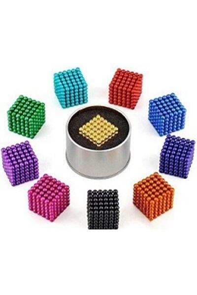 Manyetik Mıknatıslı Toplar Tek Renkli 216 Adet