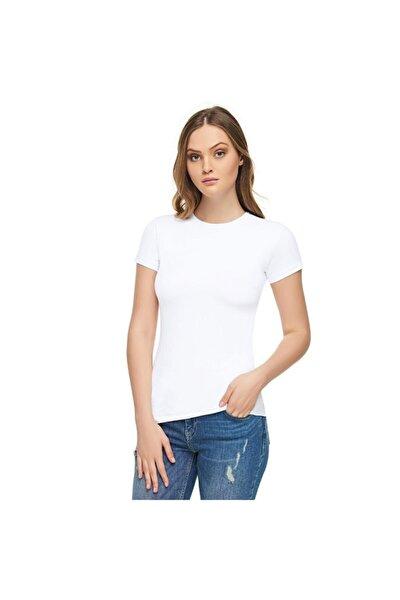 0 Yaka Kadın Tişört