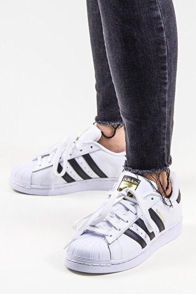 Unisex Beyaz Superstar Günlük Spor Ayakkabı Originals C77124