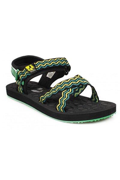 4039891 Z Zulu Yeşil Kadın Sandalet