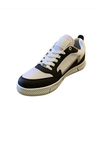 Unisex Siyah Bağcıklı Sneaker
