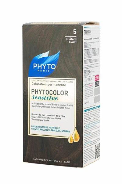 Color Sensitive Saç Boyası 5 Açık Kahve Kestane