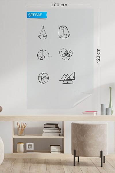Şeffaf Akıllı Kağıt 100 120 cm