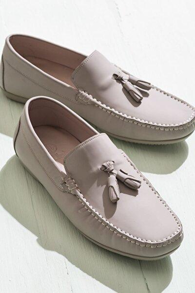 AEKER Hakiki Deri Vizon Erkek Ayakkabı