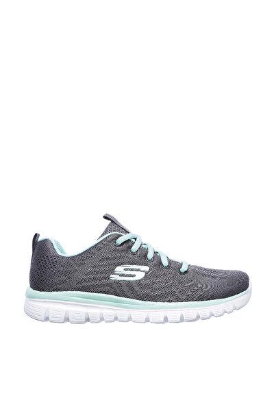 Gri Yeşil Kadın Casual Ayakkabı 12615CCGR