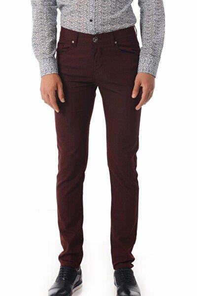 Slim Fit Bordo  Pantolon 29152018C001