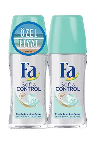 Deodorant Roll-On 2'Li Soft & Control 50 ml + 50 ml