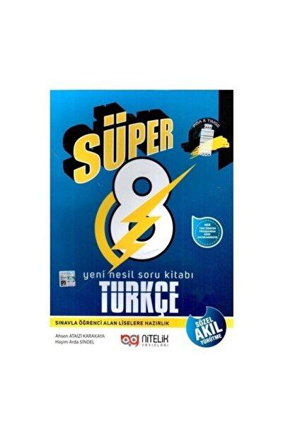 8. Sınıf Süper Türkçe Yeni Nesil Soru Kitabı