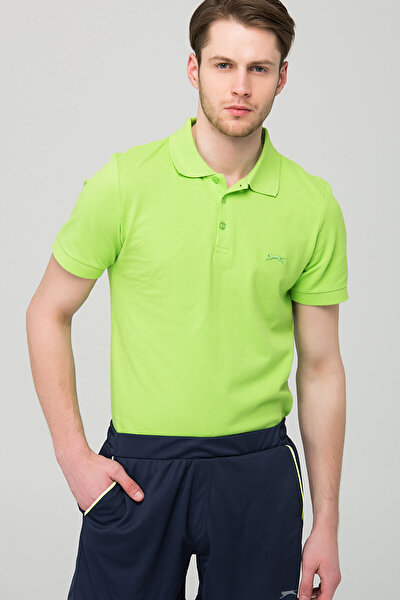 Erkek Yeşil T-Shirt Cenek - ST18TE054-888