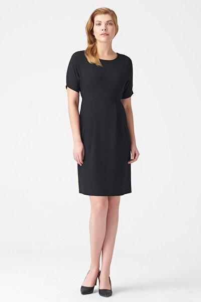 Kadın Siyah Elbise 17K11112Y796